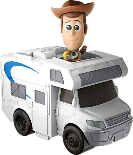 Mattel GCY61 - Disney Pixar Toy Story 4 Minis Woody und Wohnmobil, Sammelfiguren mit Fahrzeug, Spielzeug ab 3 Jahre