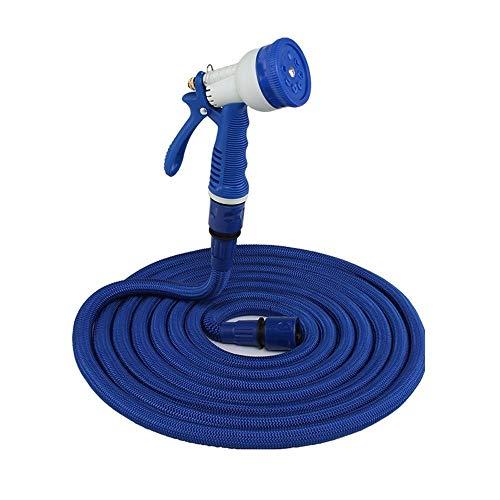 YYDD - Manguera de agua de alta resistencia para manguera de jardín de casa, manguera de agua duradera de 7 funciones, boquilla de manguera