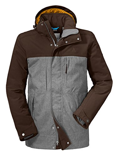 Schöffel Herren Insulated Jacket Lipezk Jacke, Rugged Brown, 52