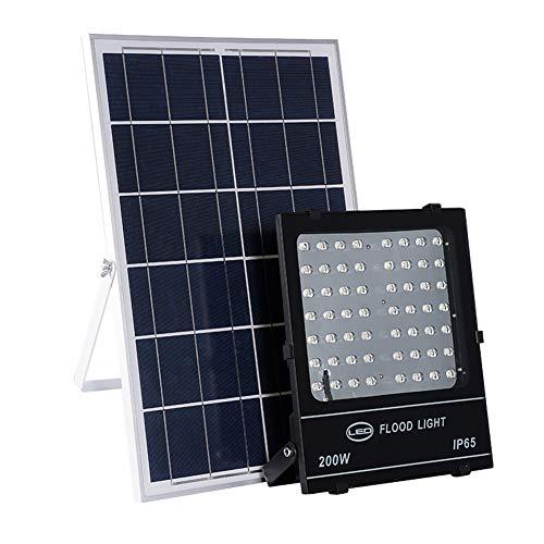 LED Solar Foco Proyector 100W 150W, Luz De Seguridad Para Jardín IP65...