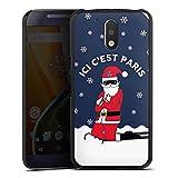 DeinDesign Motorola Moto G4 Plus Coque Étui Housse PSG Paris Saint-Germain Produit sous Licence...