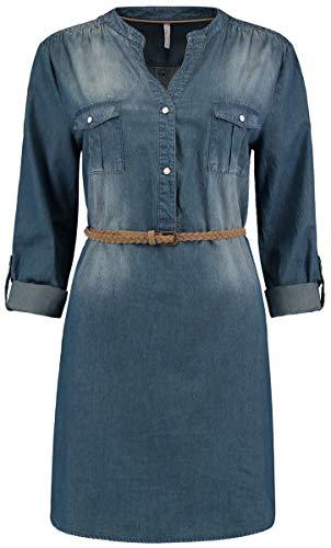 Hailys Patty Frauen Bluse blau M 100% Baumwolle Basics, Streetwear