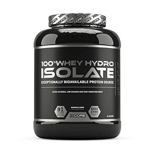 XCORE Nutrition 100% Whey Hydro Isolate - 2 Kg Fresa
