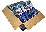 Bolsa de basura color azul con autocierre 55x60cm. Con capacidad de 30 litros para cubo doméstico. 720 sacos de basura antigoteo envasadas individualmente. 15 uds por rollo. Caja 48 rollos