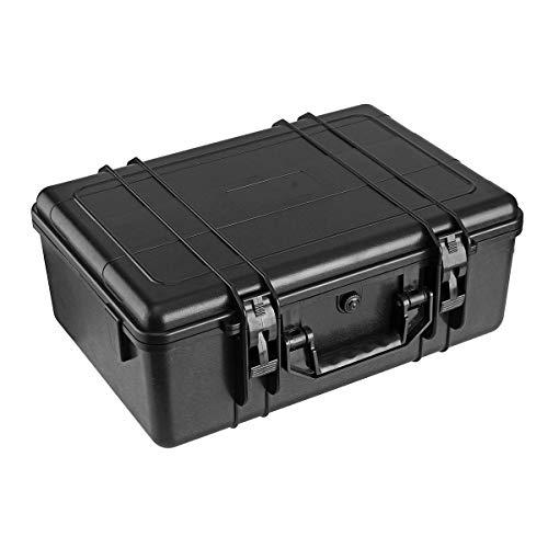 YFB Étui de Transport Rigide étanche Flight Case Étanche Photographie Matériel Kits d'outils Boîte de Rangement Protecteur de sécurité Résistant aux Chocs