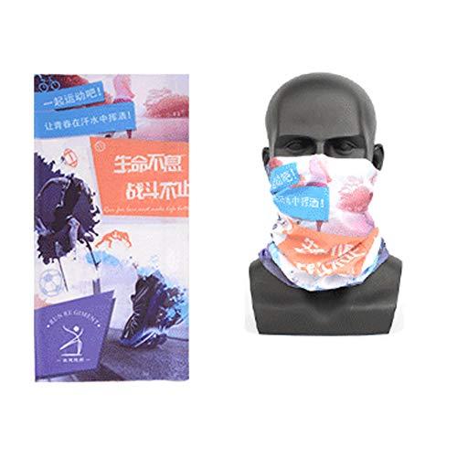 Headwear Bandanas, UV-beschermkap, multifunctioneel, rekbare hals, slangsjaal, masker onder de helm, voor vissen, zeilen en skiën