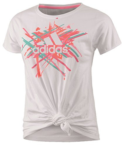 adidas Camiseta Deportiva para BQ White/PINKZE White/PINKZE Talla:116