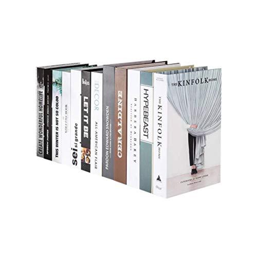 HEALLILY Libro Decorativo imitación Libro Foto Prop decoración del hogar para Bar Tea Shop
