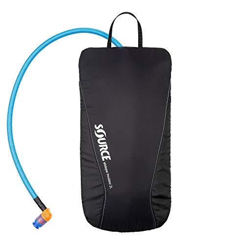 Source Widepac Insulator - Bolsa de hidratación Unisex (3 L), Color Negro