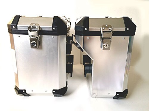 Brooks Pannier system (Left + Right) for BMW R1200GS R1250 GS ADV (2013-19)