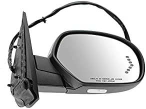Replacement For Power Folding Mirror GMC Suburban Silverado Sierra Tahoe 07-14 Heated Memory Signal PTM Right