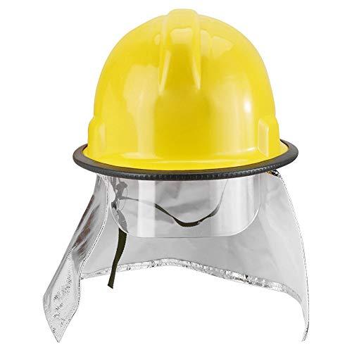Brandweerhelm, veiligheidshelm voor brandweerlieden met preventie van aluminiumfolie Brandvertragende perforatieweerstand voor werk, thuis, brandweerman, werken op hoogte