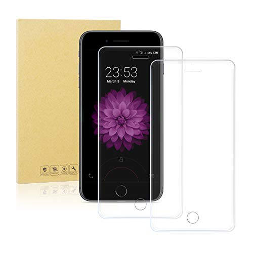 Dtdepth Tempered Glass Screen Protector For iPhone 8 Plus, iPhone 7...
