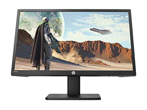 HP 22x TN - Monitor Gaming, pantalla FHD de 22 , AMD FreeSync, tiempo respuesta saturación 1 ms, frecuencia 144 Hz, altavoces integrados, luz azul baja, compatible con Vesa, HDMI, VGA, negro