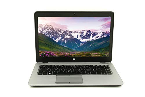 HP Elitebook 840 G2 35,56 cm 14 Zoll WXGA Leistungsstarker Laptop  Intel Core i5 2X 2.2GHz 8GB RAM 256 GB SSD Win 10 Home Tastatur DE Intel HD Graphics 5500   1,71 kg schwatz/Silber (Generalüberholt)