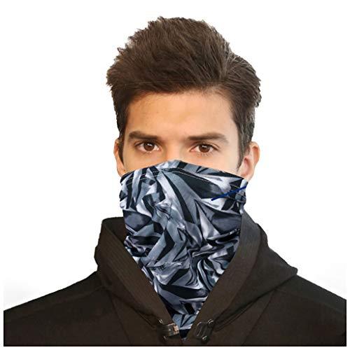 FRAUIT 2 stuks multifunctionele doek sterrendruk biker bandana naadloze halsdoek buisvormige doek 3D-print hoofddoek hoofddoek outdoor UV-stofbescherming gezicht scarf voor stof, wandelen, paardrijden