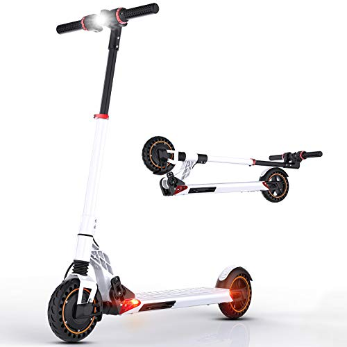 Patinete Eléctrico, Scooter electrico Adulto 30km/h, Potencia de 350W, Alcance de 25...
