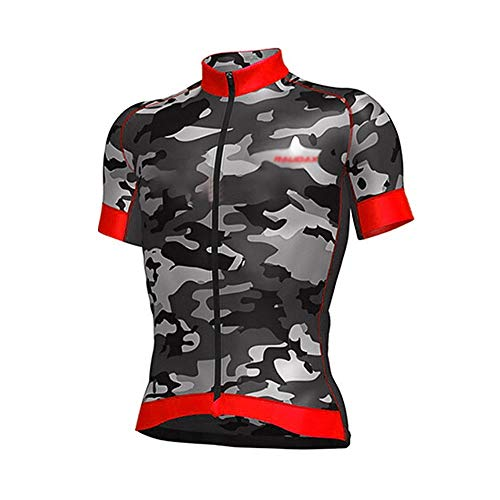 Maillot de ciclismo de manga corta para hombre Ciclismo conjunto Pro Cycling...