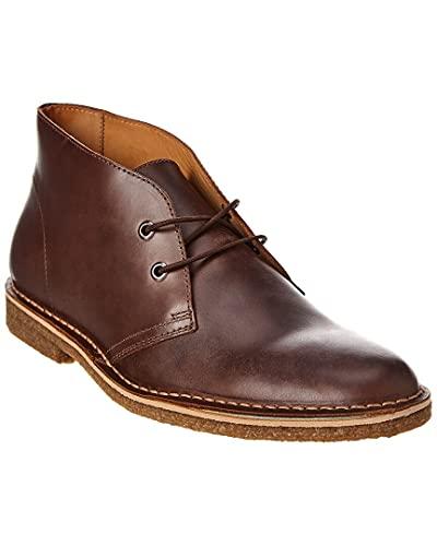 Mivano Italia Stitchout Leather Chukka Boot, 13, Brown