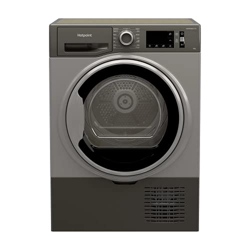 Hotpoint 8kg Freestanding Condenser Tumble Dryer - Graphite