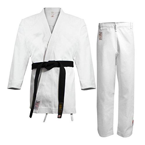 Daimyo 00-2/071-3 Uniforme de Karate, Hombre, Blanco, 4 (170 cm)
