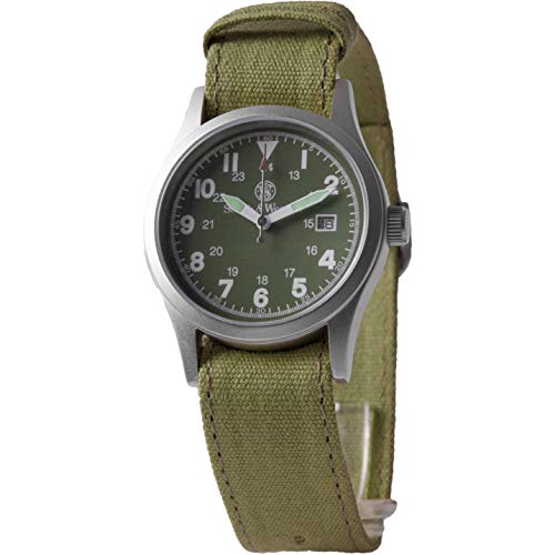 Smith and Wesson Erwachsene Uhr, Modell Military, mit 3 Armbändern, WEEE-Reg-Nr. DE93223650, Mehrfarbig, One Size