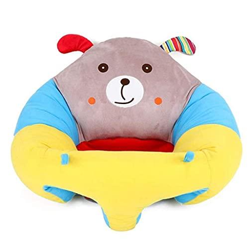 HUAXUE Sillones Sofá Sofá Sillón, Asiento de Soporte para bebé Colorido Aprender Sit Soft Silla Cojín Sofá Sofá Pillow S