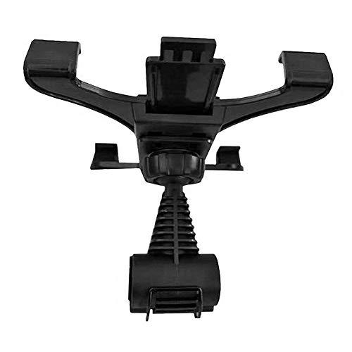 NAttnJf 7-11 Zoll Einstellbare Tablet PC Auto Rücksitz Kopfstützenhalter Ständer Halterung für iPhone XS Max XR X 8/7/6/6 s Plus Samsung Galaxy S5 / S6 / S7 / S8 / S9 Hinweis 9 8 Huawei LG Black