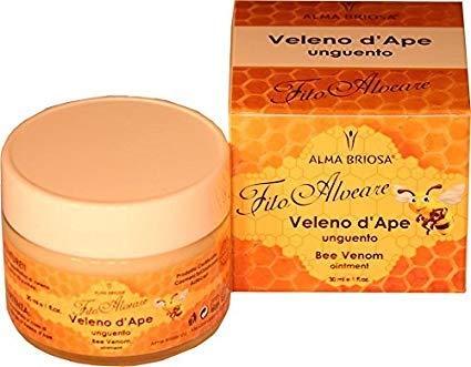 ALMA BRIOSA - Bienengift Salbe - hochkonzentriert - ideal für Gelenkschmerzen - nützlich bei Verbrennungen, Wunden, Narben - Nickel getestet - dermatologisch getestet - 30 ml