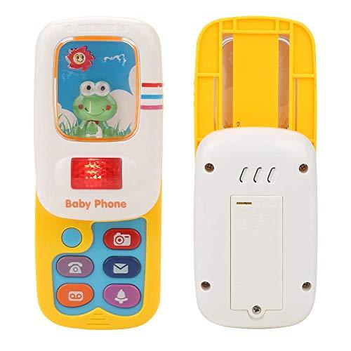Juguete del teléfono, juguete del teléfono de la música de alta calidad, seguro para los niños de las niñas bebés de los niños