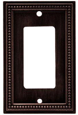 BRAINERD MFG/LIBERTY HDW W10237-VBR-U BRZ Bead 1G Deco Plate