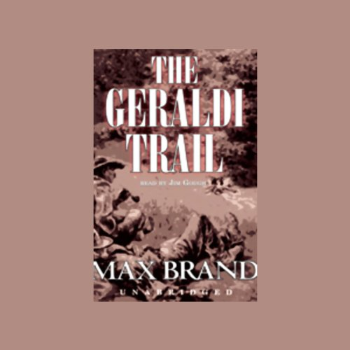 The Geraldi Trail audiobook cover art