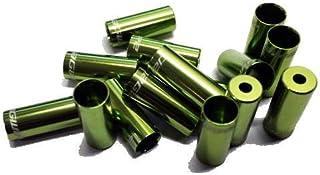 JAG WIRE(JAG WIRE) OPEN END CAP 4mm 换挡线用保护盖 10个装 黄绿色 BOT192-2AJ/10