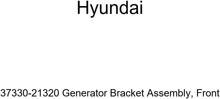 Genuine Hyundai 37330-21320 Generator We OFFer at cheap prices Bracket Max 48% OFF Assembly Front