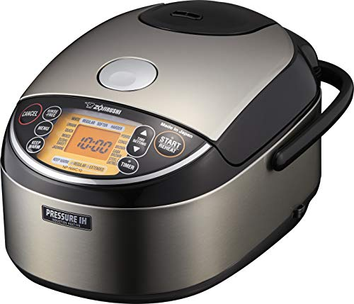 Zojirushi NP-NWC10XB Pressure Induction Heating Rice Cooker & Warmer