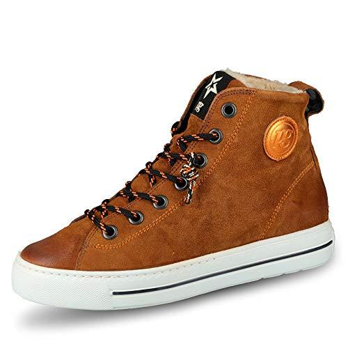 Paul Green 4842 Damen Sneakers Braun/Orange, EU 38
