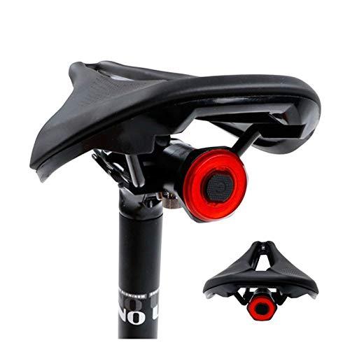 Luz Bici Bicicleta Trasero Auto Inicio/Detener Sensación de Frenos IPX6 Impermeable USB Carga Ciclismo Coloque Tras Light Bike Light (Color : For Saddle)