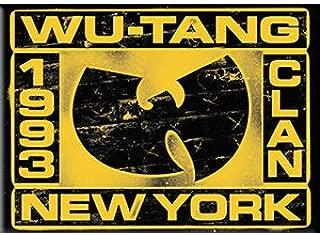 C&D Visionary WU-Tang Clan - New York, Licensed Original Artwork, Refrigerator Magnet, 2.5