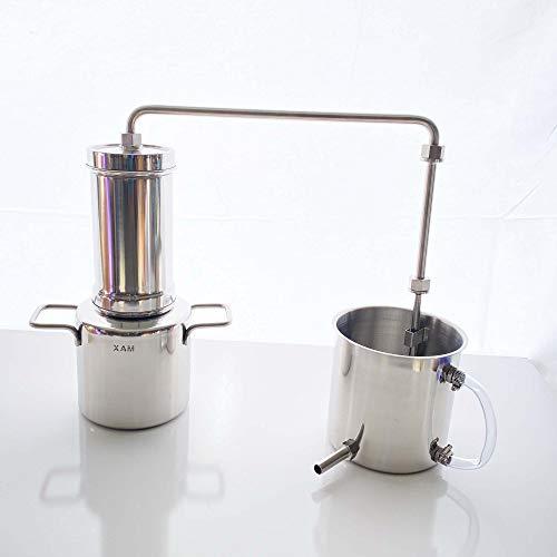 LETIME 3L Essential Oil Distiller, LETIMESTILL LT3000 Stainless Steel...