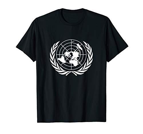 Flagge der Vereinten Nationen Vn Uno Fahne für Damen Herren T-Shirt