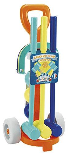 Ecoiffier 745 – spel voor zand en strand – Chariot Croquet