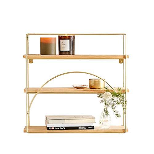 Kitchen furniture - Support mural en fer support de chambre salon présentoir de cadre de partition d'étagère flottante WXP (taille : 65 * 15 * 70cm)