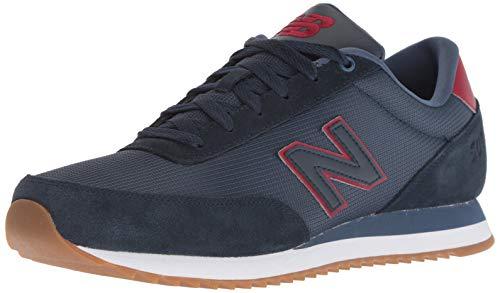New Balance Herren 501v1 Turnschuh, Galaxy/Nubuck Scarlet, 49 EU