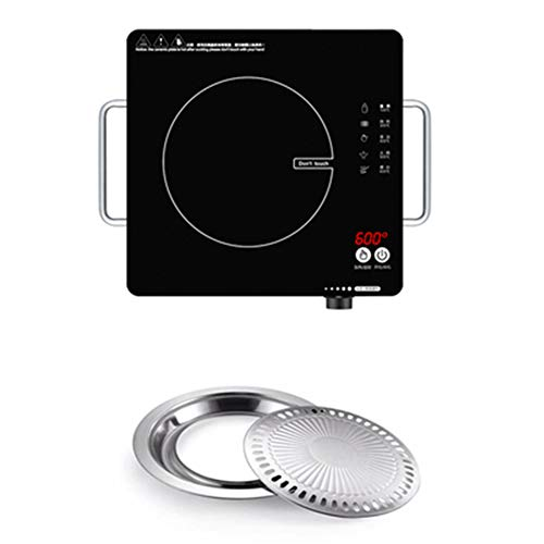 N / C Versatile Induction Cooktop with Magnetic Bottom and Digital Touch Sensor Control Panel, Smart...