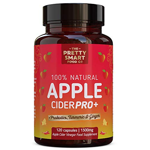 Powerful Apple Cider Vinegar Capsules - Boosted with...