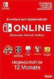 Nintendo Switch Online Mitgliedschaft - 12 Monate