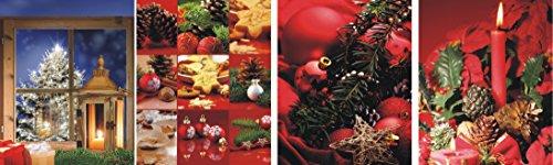 geschenktüten Large (Grande) – K & B Distribution de Noël sacs sac de Noël sacs cadeaux noël se-7339 (48 pièces)
