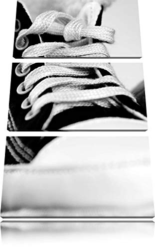 ZYJHD Converse All Stars Shoes 3-Piece Canvas Picture 50Cmx90Cm Image on Canvas