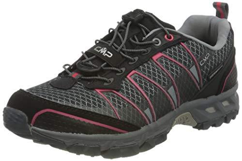 C.P.M. Altak Wmn Shoe WP, Scarpe da Trail Running da Donna, Grigio Antracite Corallo 21bh, 36 EU
