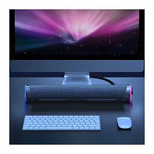 Lautsprecher Für PC 3D Surround Soundbar Bluetooth 5.0 Lautsprecher verdrahtete...